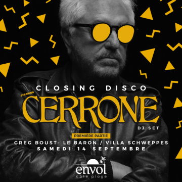 Closing Disco – Cerrone