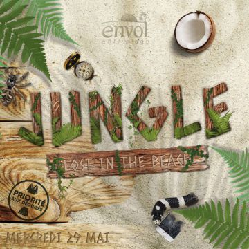 JUNGLE : LOST IN THE BEACH