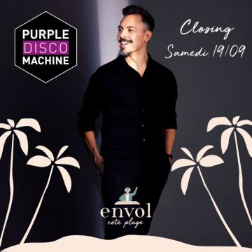 CLOSING PURPLE DISCO MACHINE